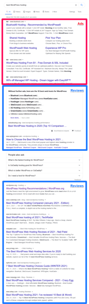 search results for best WordPress Hosting