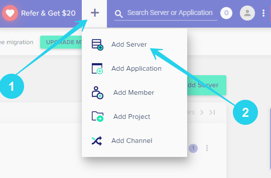 How to add new server in Cloudways