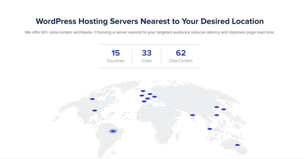Cloudways worldwide server data-centers