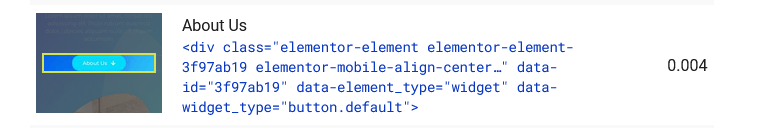 example of how Google fonts can cause CLS